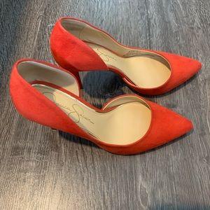 Jessica Simpson d'Orsay Stilettos